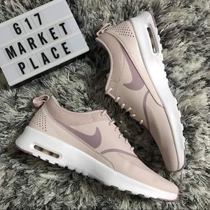 NEW Nike Air Max Thea Barely Rose Women's Shoes